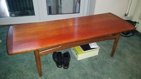 Antique 1950's Teak E.Gomme original G-plan coffee table