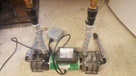 SHOWER PUMP: SALAMANDER RSP100 twin 3 bar