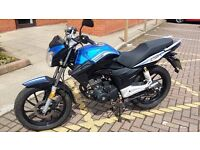 2016 - Lexmoto ZSA 125CC still has 2year 6 month m.o.t less than 3 thousand miles & 1 owner from new