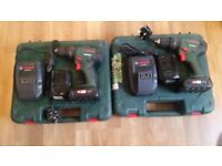 2 bosch drills psb1800li2 Comes with case and 2 lithium ion batteries and charger£100 or £55 each