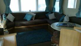 Caravan to hire /rent at Cayton bay in £150