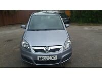 Vauxhall Zafira '07 Excellent condition, great mileage
