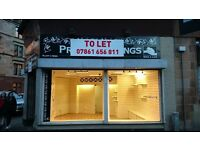 CORNER SHOP/ OFFICE (TO-LET) - BUSY CATHCART ROAD, £495p/m