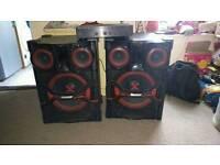 LG speakers