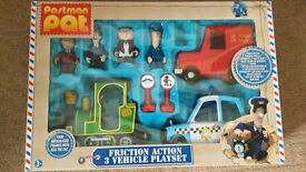 Postman Pat friction vehicles and figures set-missing Jess