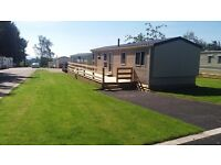 Large selection of Brand New static caravans for sale on Pitgrudy Holiday Park in Dornoch