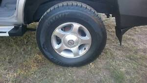Land Cruiser wheels and tyres Helidon Lockyer Valley Preview