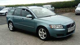2010 VOLVO V50 D-drive ESTATE 1.6 diesel ''£20 tax''
