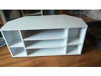 White corner TV unit - brand new from Argos - £30