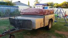 MDC Camper off-road trailer AND swing away boat rack Seville Grove Armadale Area Preview