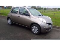 nissan micra 1.2 2006 56 reg 5 door absolute full nissan service history only 86000 miles superb car