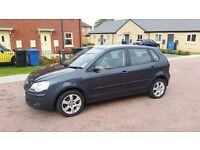 VW POLO 1.2 GREY 5 DOOR 1 FORMER KEEPER DERIVES EXCELLENT VW SERVICE HISTORY