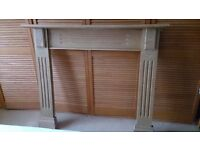 Lovely Beech hand made Fire Surround.... FREE .... must uplift Hawick area