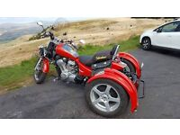 Honda shadow vt600 trike