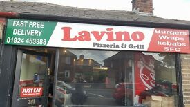 a pizza and grill shop in huddersfield road dewsbury for sale or rent