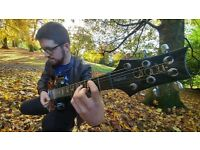Performing guitarist offering lessons in Glasgow to any age or ability.