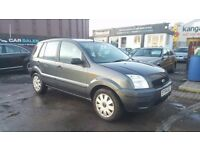**ONLY 50,000 MILES** FORD FUSION 1 16V 1.4 (2004) - 5 DOOR - NEW MOT - HPI CLEAR!