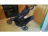 Phil & Teds double/single buggie/pram