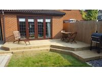 decking, shed, gazebo, pergola, decking light installation, fences