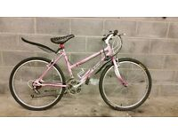 FRULLY SERVICED WOMEN RALEIGH BICYCLE