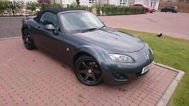 MX5 Convertible - A Real Head Turner