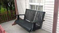 Porch / garden bench swing