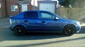 2002 Vauxhal astra 1.4 cc . boy racered up. mint condition. 10 months mot. ideal first car