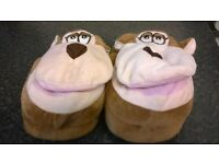 Kids Monkey Slippers (new)