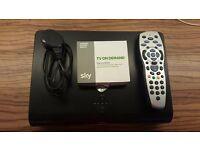 Sky+ HD Box, power cable, remote and On Demand box