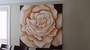 Hand Painted Rose Kellyville Ridge Blacktown Area Preview