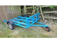 For sale well built 3 bike trailer