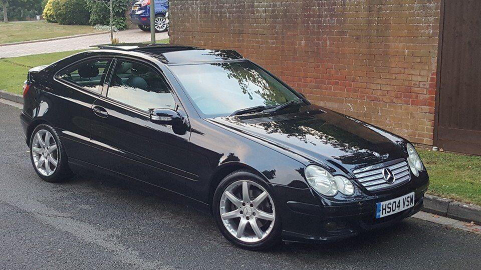 Mercedes C230 Kompressor Evo Panorama Coupe Se 2004 In