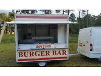 Burger Van Snack Van Catering trailer