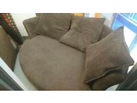 DFS Curved Sofa and Chair