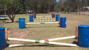 Horse Jumps Medowie Port Stephens Area Preview