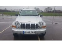 2007 cherokee 2.8 crd auto limited.