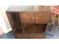Quirky Vintage Style Storage Unit