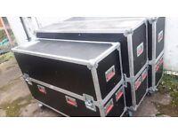 plasma flight cases 50inch and 60inch plasma tv monitors