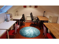 Bright friendly West End desk space available