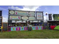 festival paid work/summer job/kitchen/catering unit