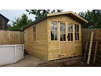 Timber summer house