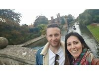 Recently engaged couple looking for a place to live in CAMBRIDGE