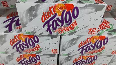 Faygo Diet Orange Soda 12 Pack 12 Oz Cans Free Shipping Tracking Fast Handling