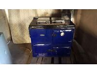 Range gas cooker also links up to çentral heating