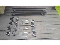 Cruz T Track aluminium Roof bars