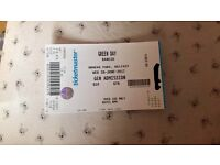 Green Day ticket - Ormeau Park 28 June - £35