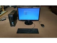 "selling a Lenovo slim PC and a 21"" samsung LED monitor (VGA) for £110"