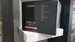 Store Sale - Canon 5D Mark IV WITH MM F/4L IS USM Lens KIT - BRAND NEW IN BOX