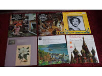 Classical Vinyl set. Retro music. Featuring Mozart and others.