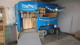 Converted horsebox mobile bar or catering trailer